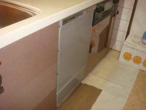 ビルトイン食器洗い乾燥機 名古屋市 取替え工事 施工