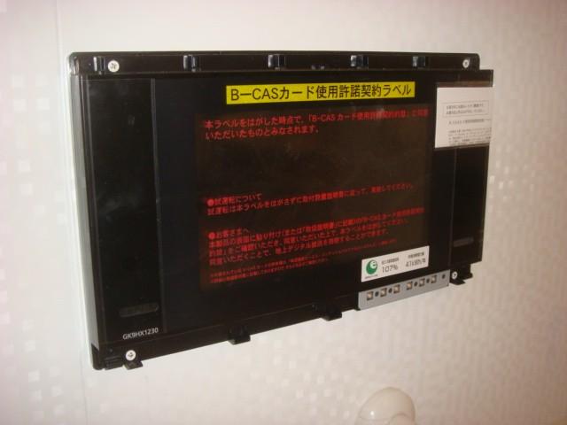 ハイビジョン浴室テレビの施工