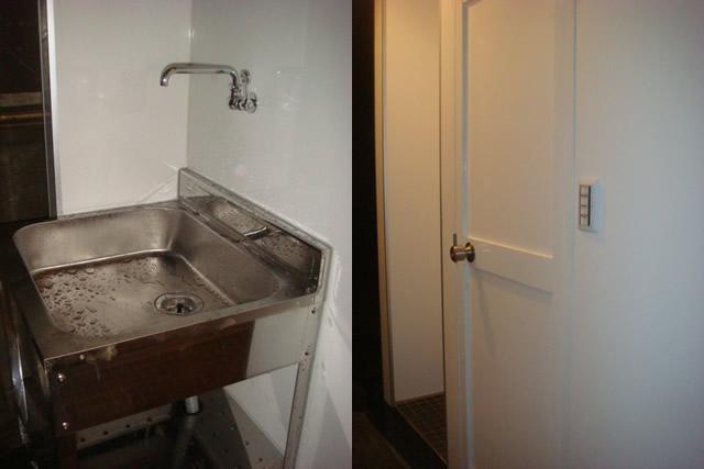 名古屋 トイレリフォーム 洗い場設置 外装工事