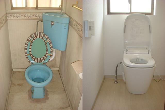 トイレのリフォーム 愛知県小牧市 施工事例