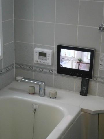 浴室テレビ 施工事例 愛知県大府市