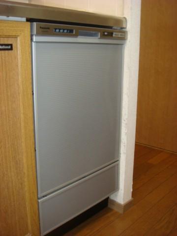 ビルトイン食洗機 施工事例 愛知県みよし市