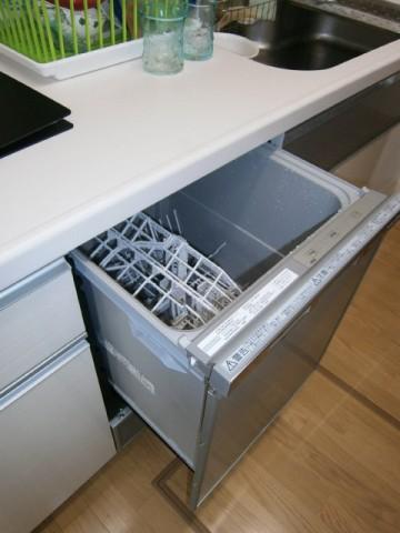 ビルトイン食洗機 施工事例 愛知県岡崎市