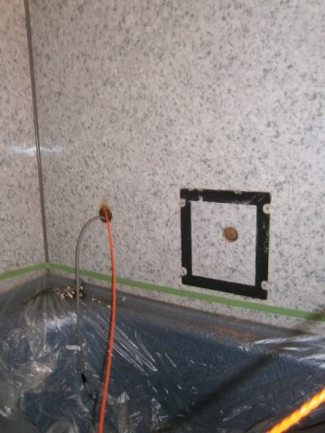浴室テレビ 施工事例 名古屋市東区