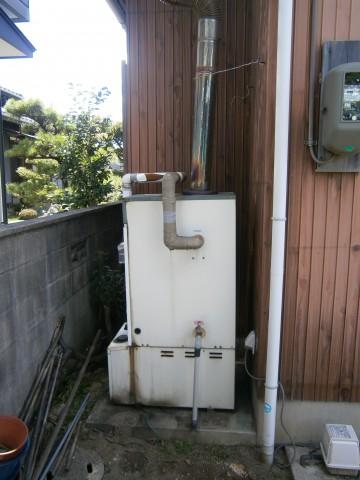 給湯器 施工事例 愛知県豊川市