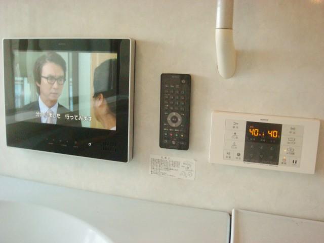 浴室テレビ 施工後