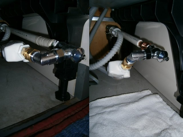 食器洗い機 取り付け 銅管の加工