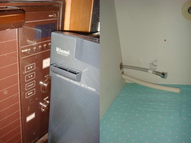 食器洗い機 新規 リンナイ製の後付け設置タイプを施工