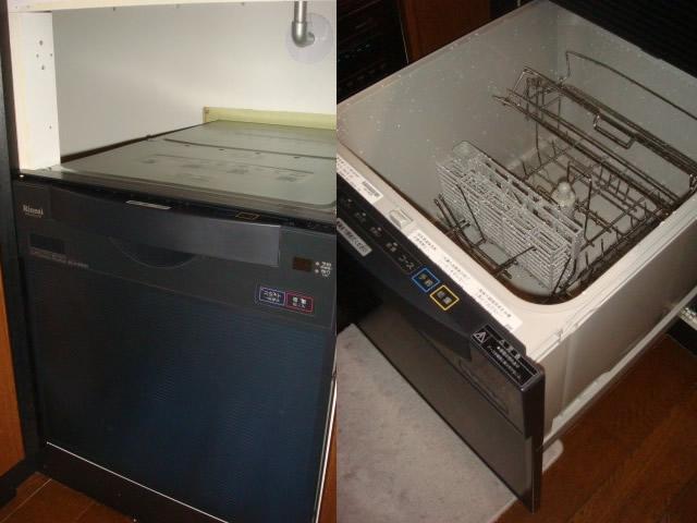 リンナイ製の後付け設置タイプ RKW-C401C(A)SA
