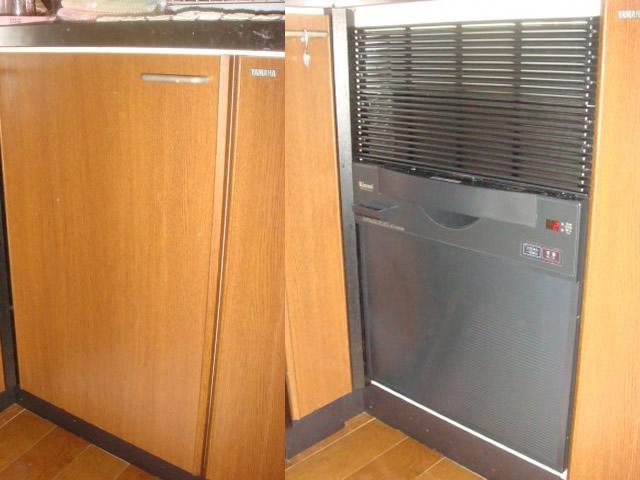 食洗機の新規取付工事 名古屋市 港区
