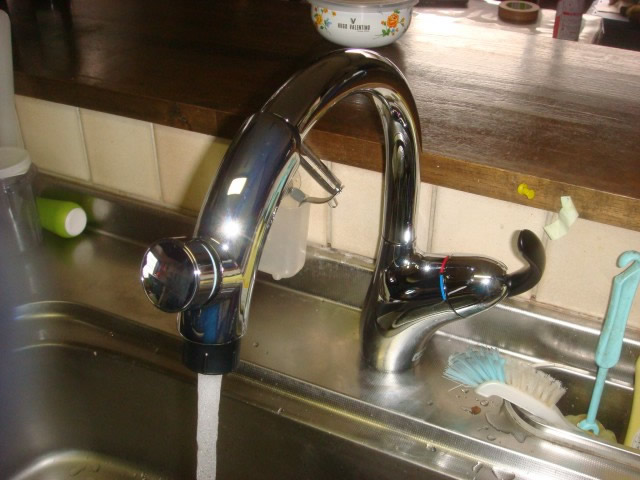 蛇口 水栓取替工事 名古屋市中村区