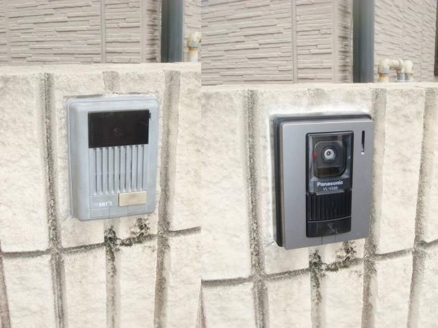 カメラ玄関子機 インターホン
