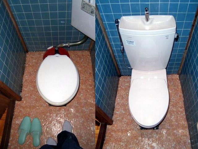 江南市トイレの交換工事
