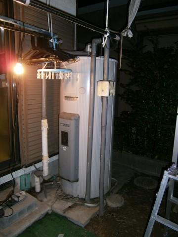 電気温水器取替工事 名古屋市
