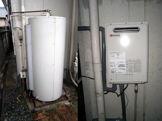 ノーリツ 給湯器 GQ-2037WS