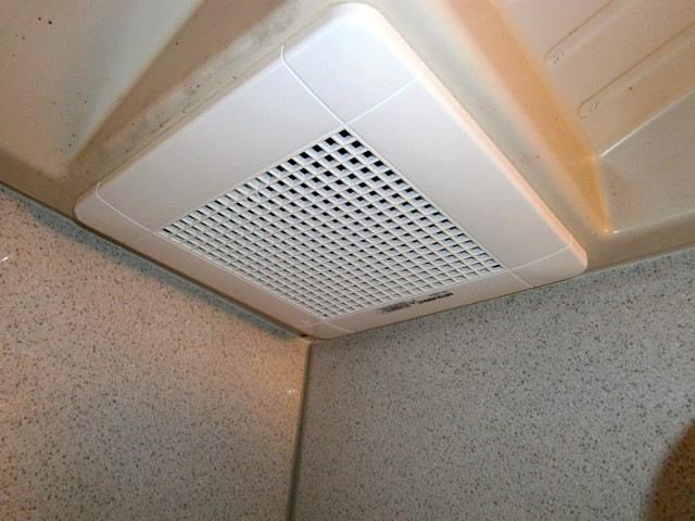 浴室の換気扇交換 愛知県 あま市