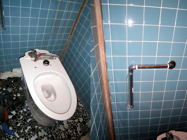 トイレ本体 交換