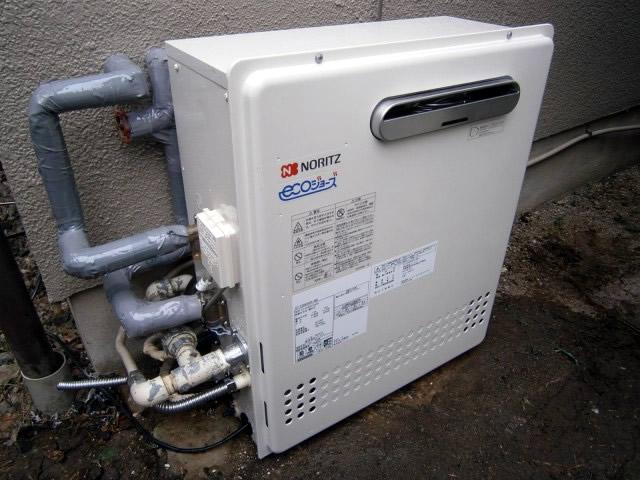 名古屋市守山区 エコジョーズ 給湯器取替工事