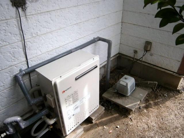 石油給湯器からガス給湯器取替え工事 半田市