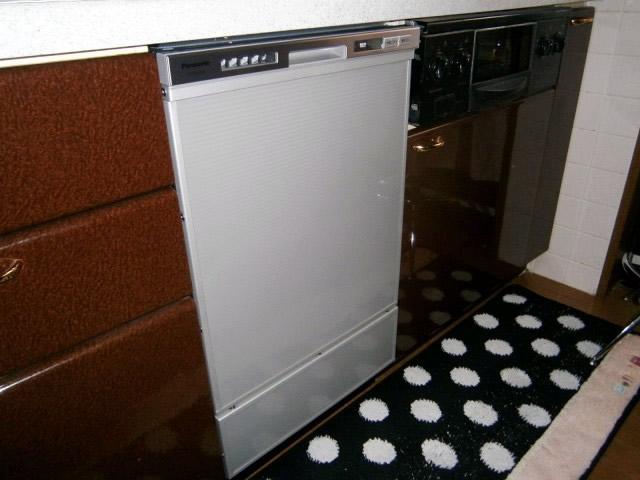 食器洗い機(食洗機)取替工事 名古屋市北区