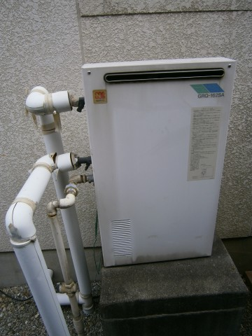 給湯器 施工事例 愛知県西尾市