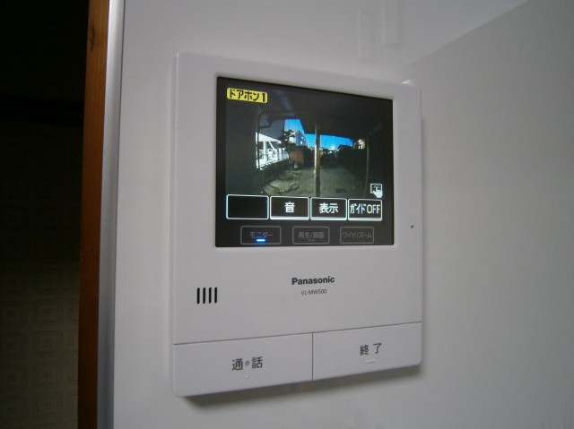パナソニック VL-SW500KL・増設カメラ玄関子機VL-V570L-S