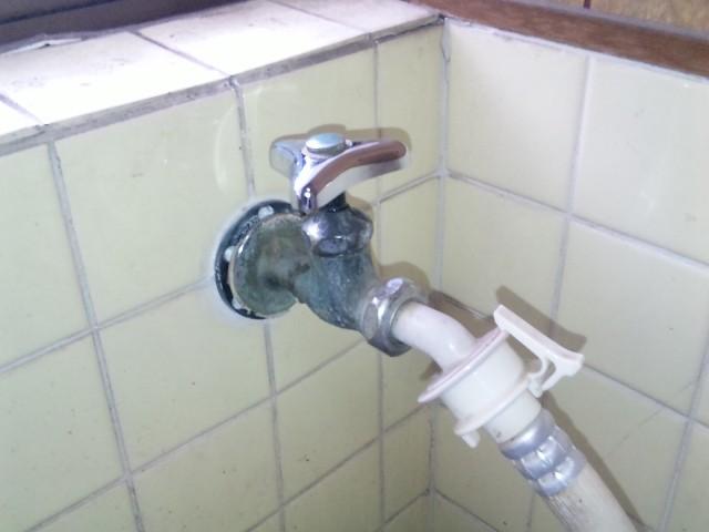 水栓 施工事例 名古屋市守山区