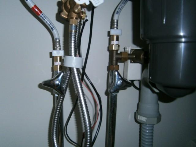 水分厳禁の電気部分