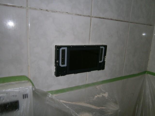 浴室テレビ 施工前 名古屋市西区