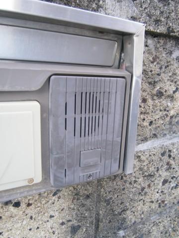 テレビドアホン取替工事 玄関交換前 名古屋市守山区