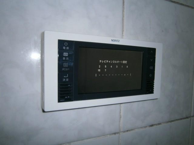 ノーリツ 5V型ワンセグ浴室テレビ YTVD-501W