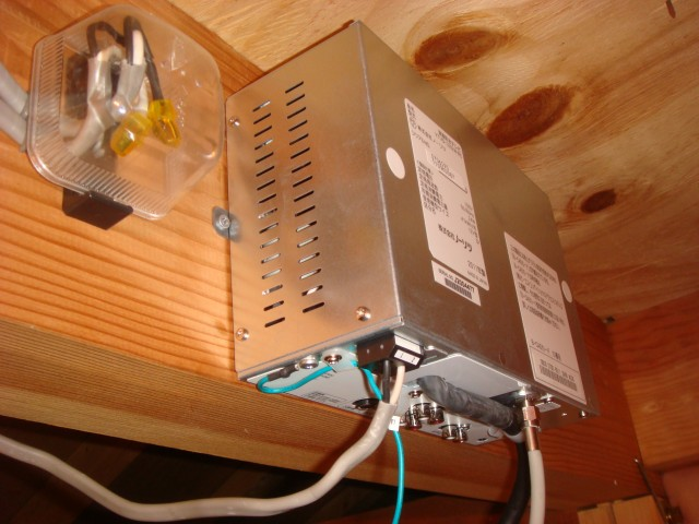 電源チューナーBOXです。