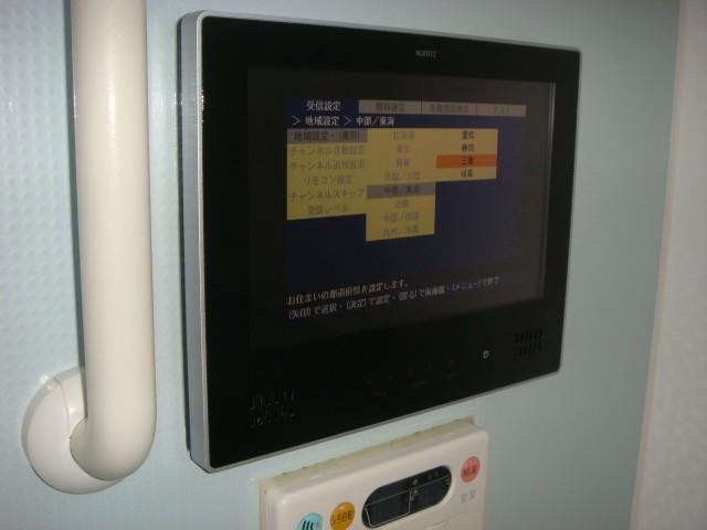 浴室テレビ 施工事例 三重県四日市市