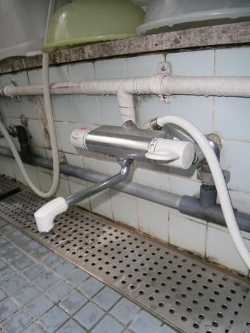水栓 施工事例 名古屋市港区