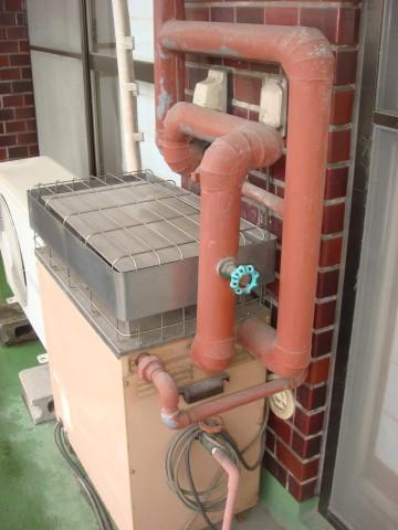 給湯器 施工事例 名古屋市中区