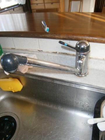 キッチン水栓 施工事例 名古屋市天白区