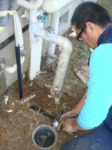 給湯器 施工事例 愛知県知多市