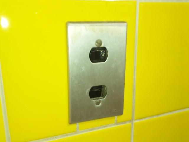 施工前 壁スイッチ