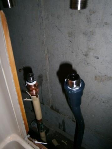 水栓 施工事例 名古屋市天白区