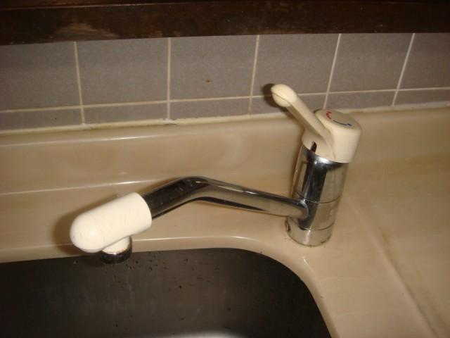 キッチン水栓 施工事例 愛知県小牧市