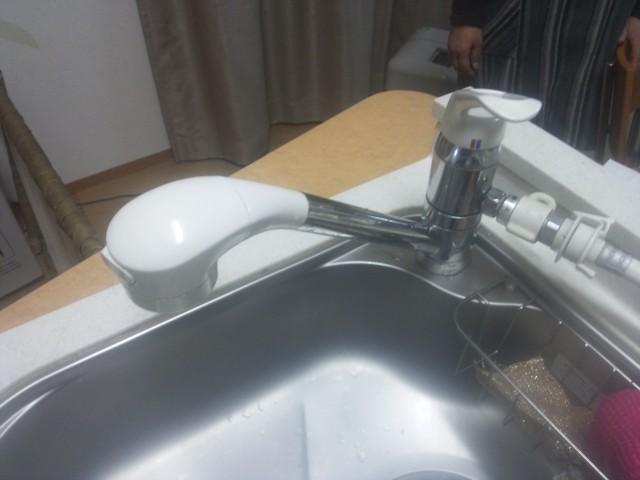水栓 施工事例 名古屋市中村区