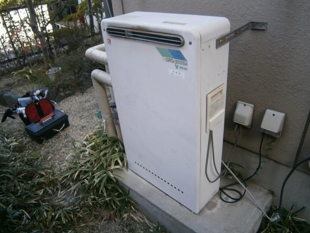 給湯器 施工事例 愛知県大府市