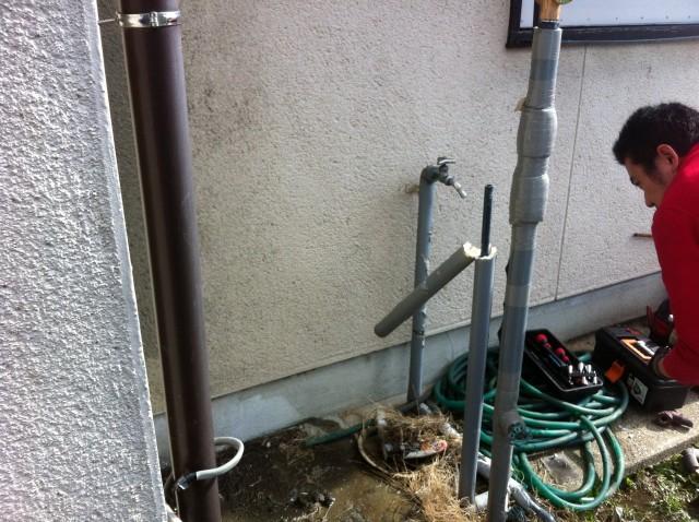 電気温水器 施工事例 愛知県清須市