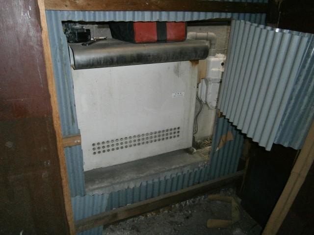 ガス給湯器取替 施工事例 北名古屋市