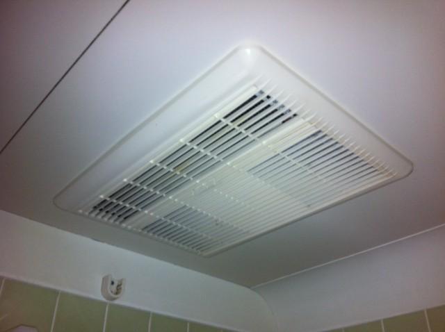 浴室暖房換気扇 施工事例 愛知県豊橋市
