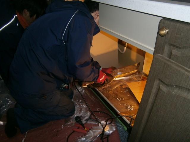 ビルトイン食洗機 施工事例 名古屋市昭和区