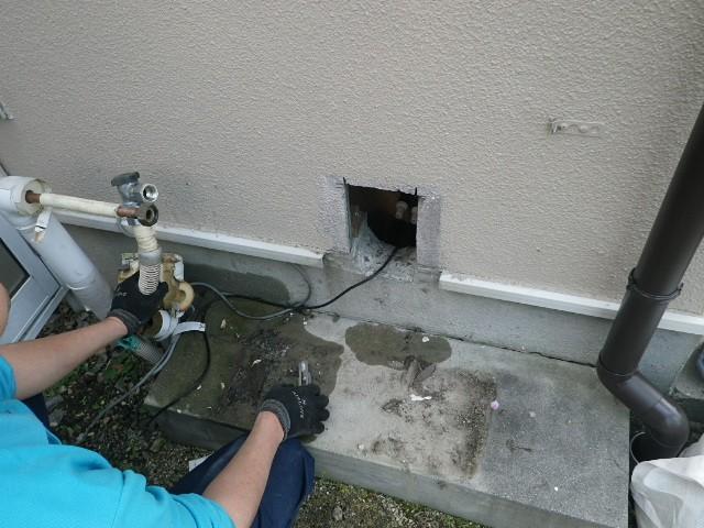 ガス給湯器 取替工事 施工事例