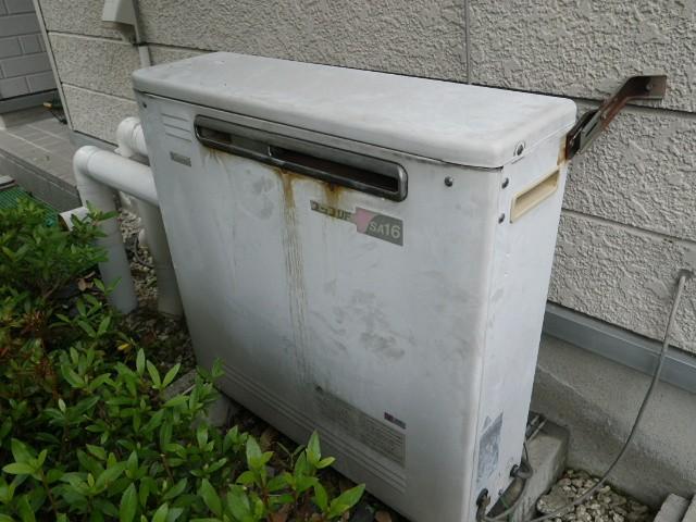 ガス給湯器取替工事 施工事例 岐阜県多治見市