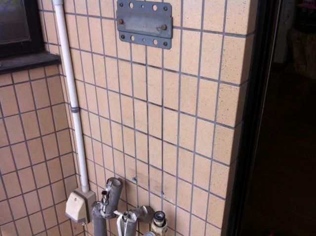 ガス給湯器取替工事 施工事例 愛知県海部郡