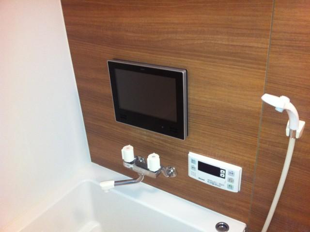 浴室テレビ 取替工事 施工事例